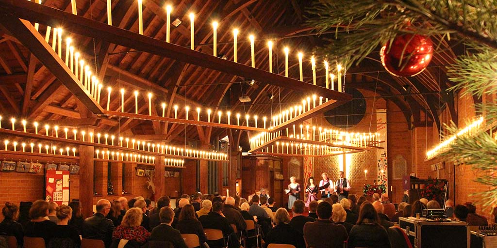 Christmas Carols by Candlelight in Brookwood
